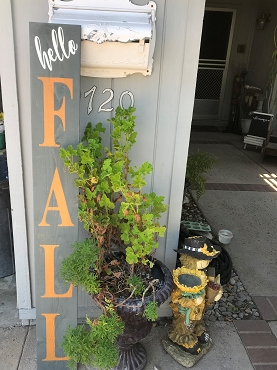 Fall Porch Sign -Local Pick-up Only