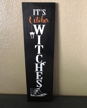 Its October Witches Halloween Decor