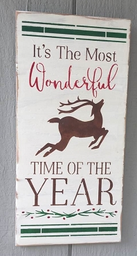 It's The Most Wonderful Time of Year Christmas Wall Art