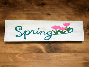 Spring Wall Decor
