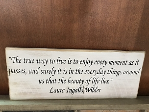 True Way Laura Ingalls Wall Art