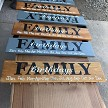 Wood Family Birthday Signs