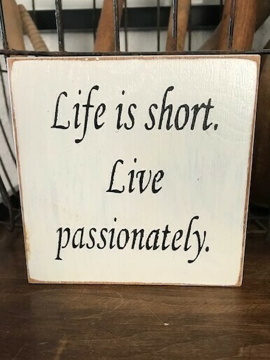 Life is Short Home and Living Decor